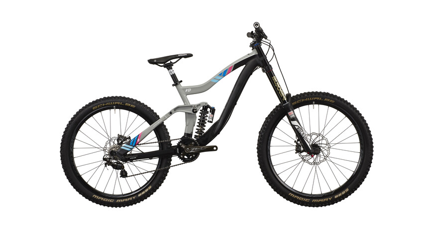 "VOTEC VD Comp - Gravity Fully 27.5""/26"" - storm grey/blue/pink"